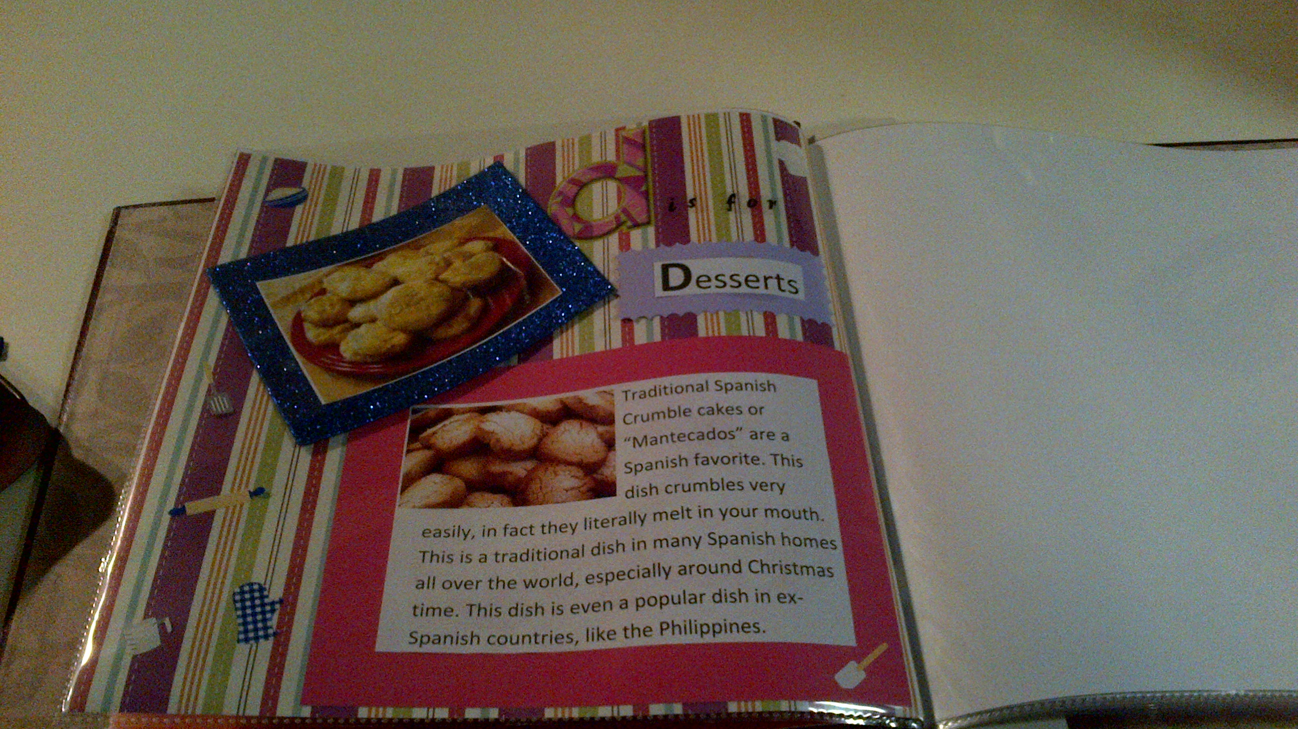 How to make scrapbook for school project - Advertisements